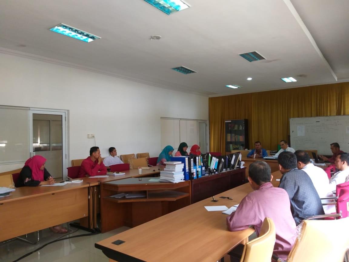 Persiapan Ujian Munaqasyah  Fakultas Dakwah dan Ilmu Komunikasi 2018/2019