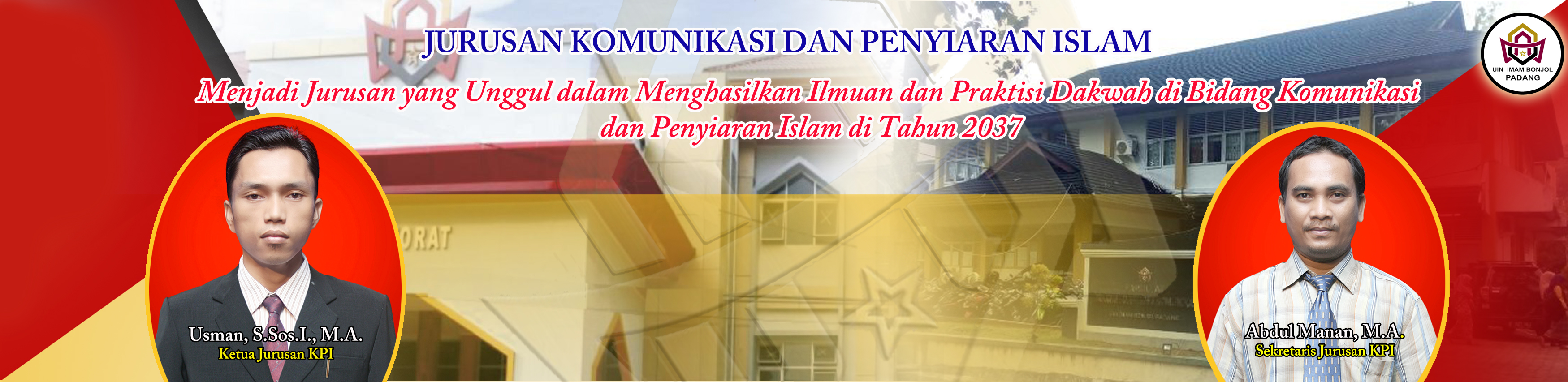 JADWAL UJIAN PROPOSAL SKRIPSI JURUSAN KPI EDISI MARET 2019