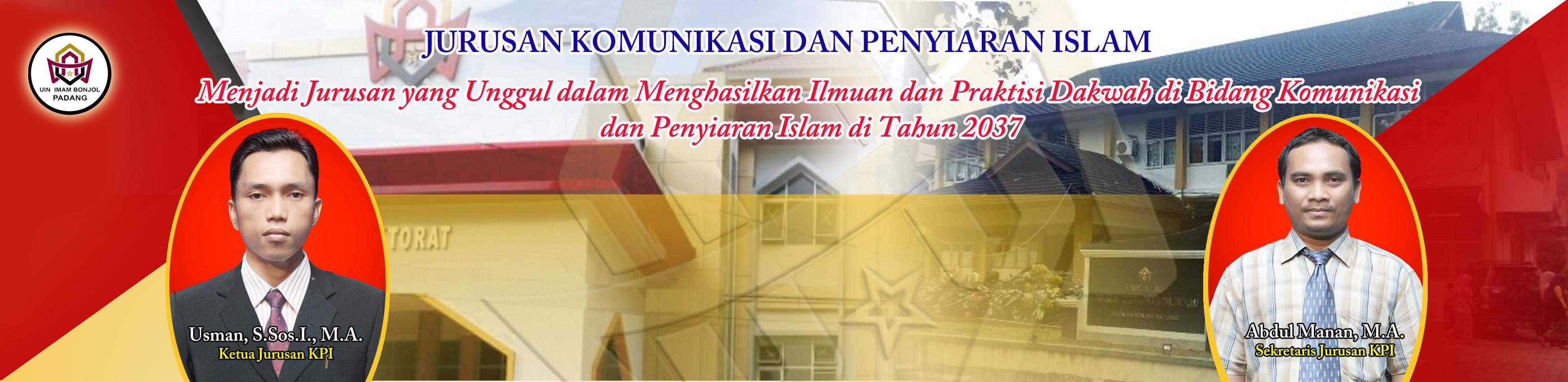JADWAL UJIAN PROPOSAL SKRIPSI MAHASISWA JURUSAN KPI EDISI JUNI 2019