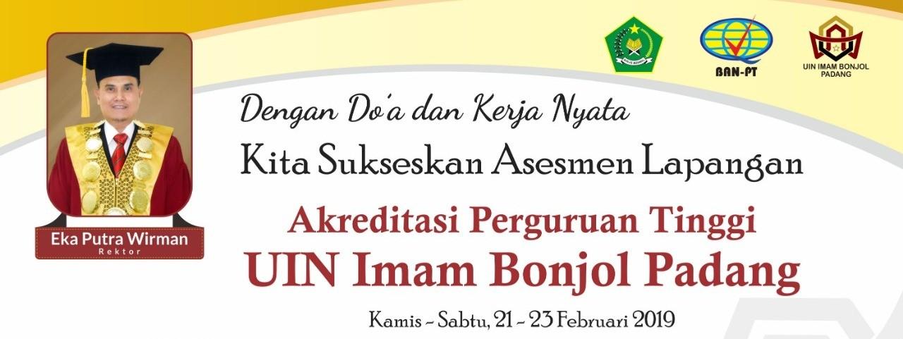 Akreditasi Perguruan Tinggi UIN Imam Bonjol Padang